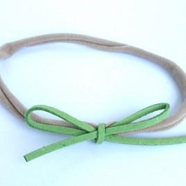 Elastisch haarbandje groen