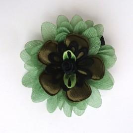 Haarlokspeld groen, zwart