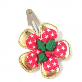 Kerst Classic goud/ster rood