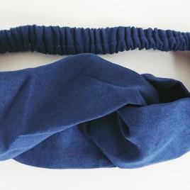 Dames haarband blauw