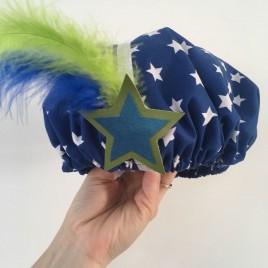 Pietenmuts blauw ster