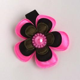 Haarlokspeld roze, zwart