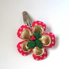Kerst Classic ster rood/goud