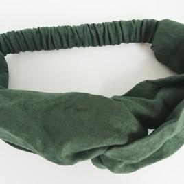 Dames haarband groen