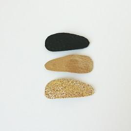 Haarspeldjes 3 stuks Goud