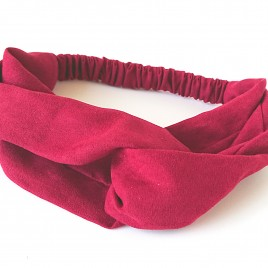 Dames haarband rood